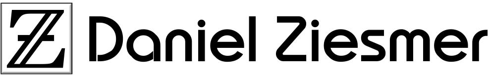 The Website of Daniel Ziesmer